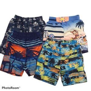 Boys Summer Swim Shorts Beach Size 6X